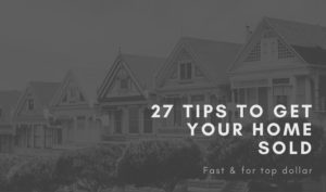 27 Tips Home Sold